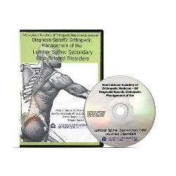 Diagnosis-Specific Orthopedic Management of the Lumbar Spine - Secondary Disc DVD